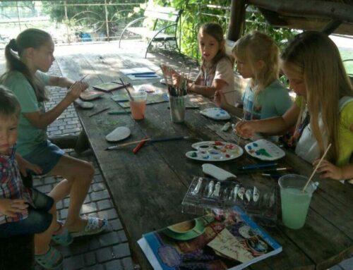 Детские мастер-классы по рисованию акварелью