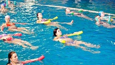 Фізичні вправи у воді ➤ Аквагімнастика в санаторії Боржава