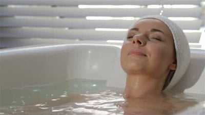 Мінеральна ванна в санаторії Боржава
