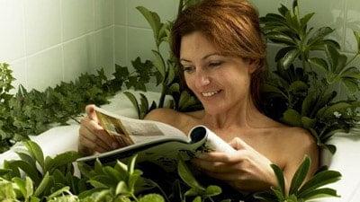 ванни з польовими травами